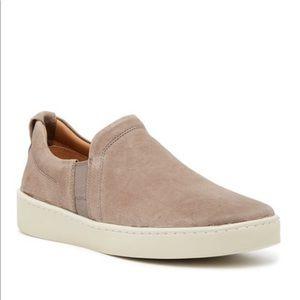 NEW • Vince • Mens Soren Slip On Sneaker Granite